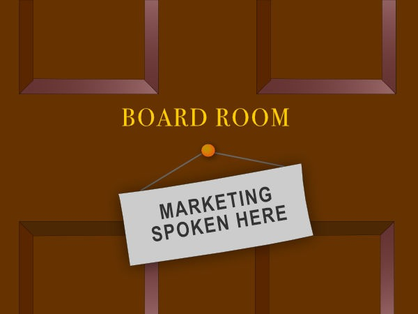 Do Marketers and Boards speak different languages?